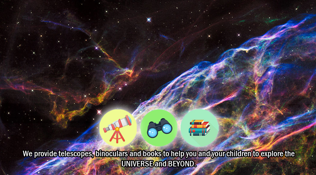 Explore the Universe from Home